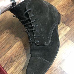 Suede Prada Boots